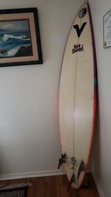 "6'7"" surfboard in Camp Pendleton, California"