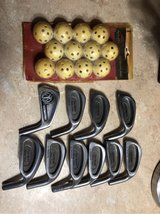 10 golf irons & practice balls in Byron, Georgia