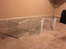 Carlson 2-in-1 White Super Pet Gate and Pet Yard in Lackland AFB, Texas