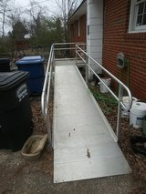 Wheelchair ramp in Fort Campbell, Kentucky