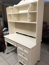 white desk with hutch in Kingwood, Texas