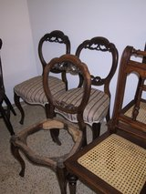 Antique: approx. 50 tables, approx. 250 chairs, up to 8 pc. in Ramstein, Germany