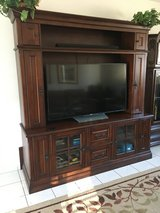 Large Beautiful Entertainment Center in Ramstein, Germany