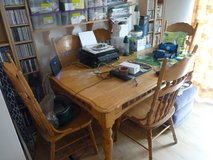 6 chairs and dining room table in Lakenheath, UK