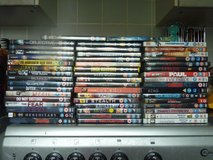 Selection of 200 DVD's in Lakenheath, UK