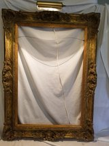 Lighted custom wood picture frame in Beaufort, South Carolina