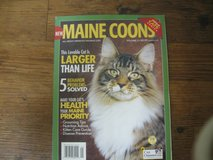 Cat Book-mostly about Maine Coons in Kingwood, Texas