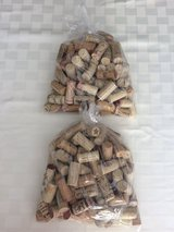 Bag of 100 wine corks in Aurora, Illinois