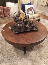 antique oak coffee table in Spring, Texas