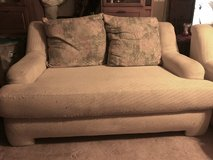 White Couch & Love Seat in Camp Lejeune, North Carolina