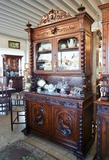 antique hunter's hutch in Spangdahlem, Germany