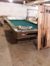 Pool table with all accessories in Fort Campbell, Kentucky