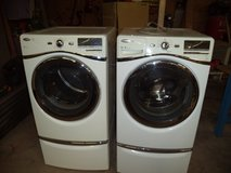 Whirlpool Duet front load washer dryer with pedestal in Alamogordo, New Mexico