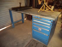 Lista 5 or 6 drawer tool box with 6ft workbench in Alamogordo, New Mexico