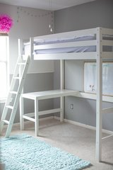 Children's Loft Bed and Twin Mattress in The Woodlands, Texas