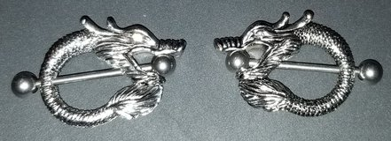 Brand New Dragon Nipple Rings in Fort Campbell, Kentucky