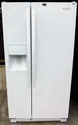 22 CU. WHIRLPOOL SIDE BY SIDE REFRIGERATOR in Camp Pendleton, California