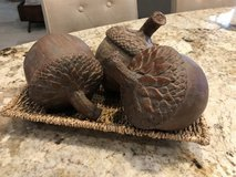 Fabulous Rustic Carved ACORNS in Spring, Texas