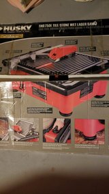 THD750L Tile / Stone Wet Laser Saw in Bolingbrook, Illinois