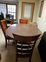 Granite Dining Table and 6 Chairs in Chicago, Illinois