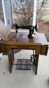 Antique sewing machine/ Wards Brunswick in Shorewood, Illinois