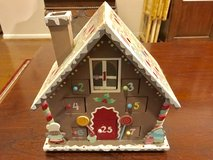 Advent gingerbread house in Kingwood, Texas