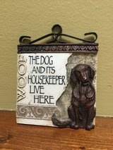 Dog owner knick knack in Westmont, Illinois