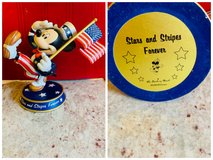 Disney Mickey Stars and Stripes forever Danbury mint in Naperville, Illinois