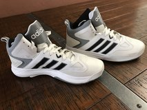 New Adidas Men's Cloudfoam Thunder Mid basketball shoes in Bellaire, Texas