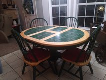 dining set with 4 chairs in Beaufort, South Carolina