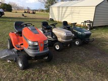 RIDING MOWERS STARTING AT $375 in Warner Robins, Georgia