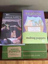 KIWI CRATE MAKING PUPPETS CRAFT KIT - NEW in Bolingbrook, Illinois