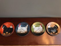 WARREN KIMBLE HENNY PENNY ROOSTER / CHICKEN DISH SET in Bolingbrook, Illinois