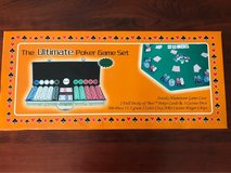 THE ULTIMATE POKER GAME SET - NEW IN BOX in Naperville, Illinois