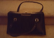 Black Textured Purse in Camp Lejeune, North Carolina