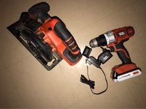 20v drill and circular saw in Okinawa, Japan