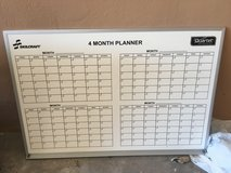 4 month planner white board in Ramstein, Germany