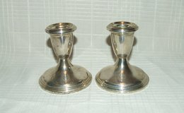 Vintage Reed & Barton Sterling Candle Stick Holders in Plainfield, Illinois