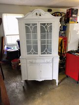 spectacular antique chalk painted cabinet in Cherry Point, North Carolina