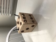 Wooden Dice Pencil Holder in Camp Pendleton, California