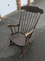Rocking chair in Lakenheath, UK