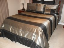 KING SIZE DESIGNER BED SPREAD in The Woodlands, Texas