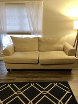 Microfiber Loveseat Couch in Fort Campbell, Kentucky