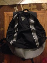 Dainese Pro Pack, motorcycle back protector and backpack in Camp Pendleton, California