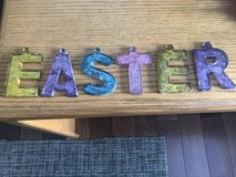 """""""EASTER"""" Letters in Mercury Glass in Naperville, Illinois"""