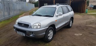 HYUNDAI SANTA FE 2.4 MANUAL 4X4 12 MONTH MOT 80k 2003 in Lakenheath, UK