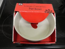 NEW DOG BOWL in BOX in Lakenheath, UK