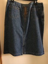 Denim skirt in Alamogordo, New Mexico