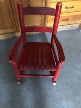 Wooden Toddler chair in Wheaton, Illinois