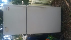 Fridge needs cleaning but works in Beaufort, South Carolina